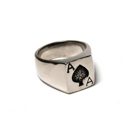 Ace of Hearts ring